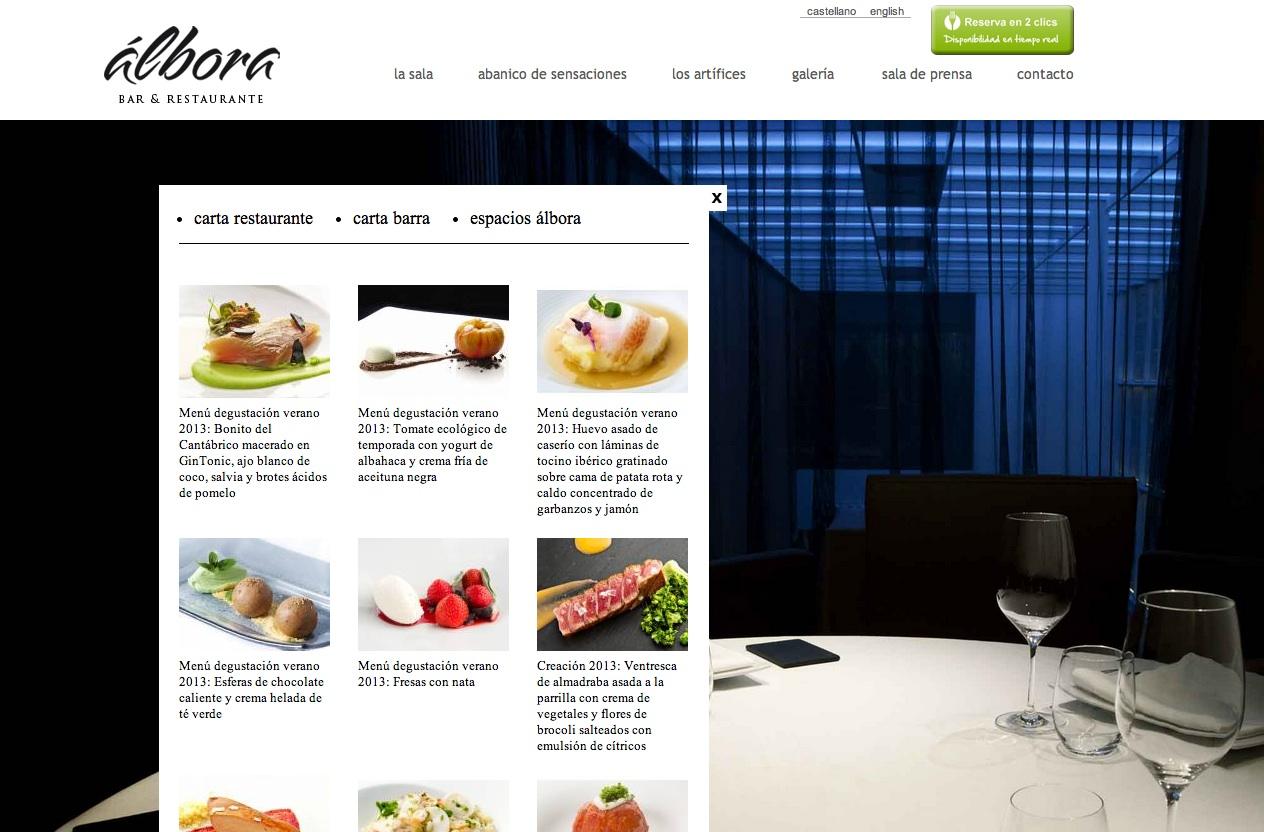 albora-menu